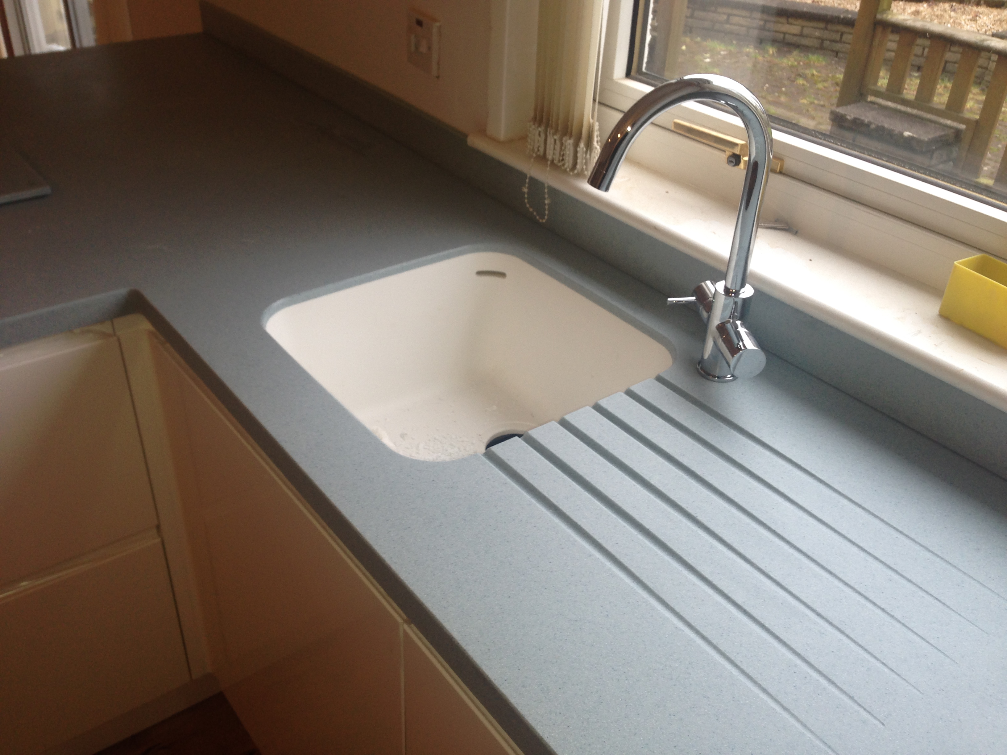 kitchen sink unit with Corian on Furniture additionally T Fcfs33 Dbl together with Corian moreover How To Install Cabi  Fillers also Design A Custom Kitchen Mantle With Ikea Cabi s.